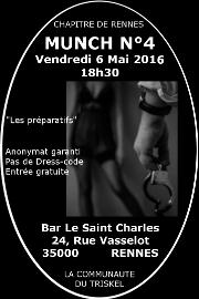 160506 – Chapitre de Rennes – Vendredi 6 Mai 2016 -18h30 -Munch N°4 – Bar St Charles – Rennes