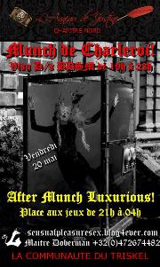 160520 – Chapitre Nord – Vendredi 20 Mai 2016 – Munch et After-Munch de Charleroi