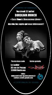 160723 – Chapitre de Bordeaux – Vendredi 23 Juillet 2016 – 21h – Munch – Le Lucifer – 33000 BORDEAUX