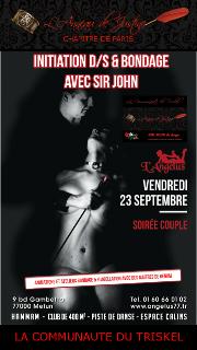 160923 – Chapitre de Paris – Vendredi 23 Septembre 2016 – 20h – Initiation D/S – L'Angelus – 77000 MELUN