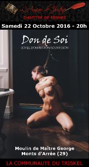 161022 – Chapitre de Rennes – Samedi 22 Octobre 2016 – 20h – Soirée au Moulin de Maître George