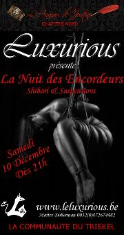 161210 – Chapitre Nord – Samedi 10 Décembre 2016 – 21 – Nuit des encordeurs – Le Luxurious – Gerpinnes près de Charleroi