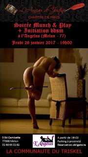 170126 – Chapitre de Paris – Jeudi 26 Janvier 2017 – 19h- Munch & Play – L'angélus – 77000 MELUN