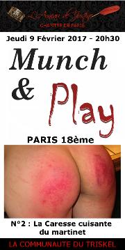 170209 – Chapitre de Paris – Jeudi 9 Février 2017 – 20h30 – Munch and Play N°2 – Paris XVIIIéme