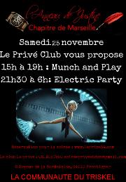 171125 – Chapitre de Marseille – Samedi 25 Novembre 2017 – Munch et Soirée – Le Privé – 34110 FRONTIGNAN