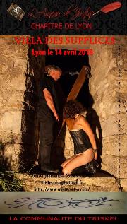 180414 – Chapitre de Lyon – Samedi 14 Avril 2018 – Soirée BDSM – 69 LYON