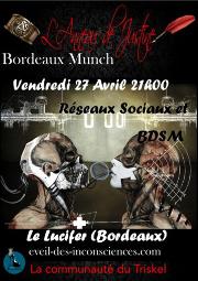 180427 – Chapitre de Bordeaux – Vendredi 27 Avril 2018 – 21h – Bordeaux Munch – Le Lucifer – 33000 Bordeaux