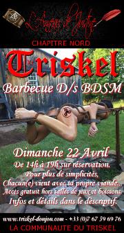 180422 – Chapitre Nord – Dimanche 22 Avril 2018 – 14h – Apéro/Barbecue – Le Triskel Donjon