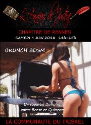 180609 – Chapitre de Rennes – Samedi 9 Juin 2018 – 11h – Brunch BDSM – Un superbe Domaine entre Brest et Quimper