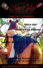 180727 – Chapitre de Rennes – Vendredi 27 et Samedi 28 Juillet 2018 – Chasse à Le Renarde – Entre Brest et Quimper (29)