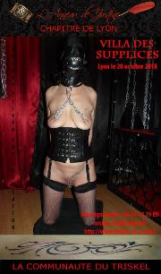 181020 – Chapitre de Lyon – Samedi 20 Octobre 2018 – 19h30 – 13ème Soirée à la villa des Supplices – 69000 LYON