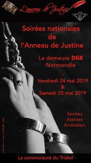 190524 – TOUS LES CHAPITRES – Vendredi 24 et Samedi 25 Mai 2019 – SOIREES NATIONALES 2019 de l'ADJ – La Demeure DGK – Normandie
