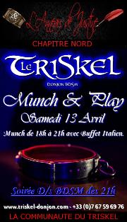 190413 – Chapitre Nord – Samedi 13 Avril 2019 – Munch & Play – Le Triskel Donjon