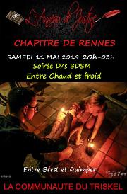 190511 – Chapitre de Rennes – Samedi 11 Mai 2019 – 21h – Soirée D/s BDSM – Un Domaine entre Brest et Quimper