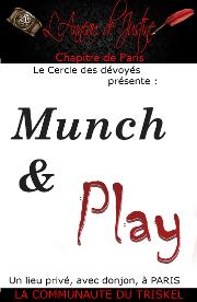 190613 – Chapitre de Paris – Jeudi 13 Juin 2019 – Munch & Play – Un lieu privé à Paris