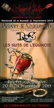 190920 – Chapitre de Toulouse – Vendredi 20 et samedi 21 Septembre 2019 – Les Nuits de l'Equinoxe – Un magnifique Chateau près de Toulouse