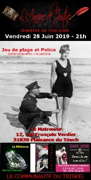 190628 – Chapitre de Toulouse – Vendredi 28 Juin 2019 – 21h – Soiée BDSM – La Matronne – 31830 Plaisance du Touch