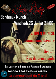 190726 – Chapitre de Bordeaux – Vendredi 26 Juillet 2019 – 21h – Open Munch – Le Lucifer 33000 Bordeaux