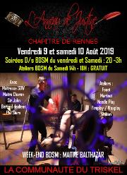 190809 – Chapitre de Rennes – Vendredi 9 et Samedi 10 Août 2019 – Weekend BDSM – Un magnifique Domaine entre Brest et Rennes