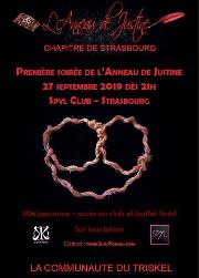 190927 – Chapitre de Strasbourg – Samedi 27 Septembre 2019 – Première soirée de l'ADJ – Le Spyl Club – 67000 Strasbourg