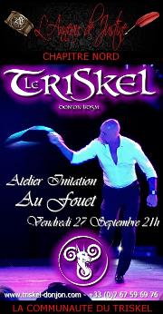 190927 – Chapitre Nord – Vendredi 27 Septembre 2019 – 21h – Atelier Fouet – Le Triskel Donjon