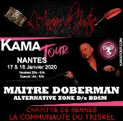 200117 – Chapitre de Rennes – Vendredi 17 et Samedi 18 Janvier 2019 – Kamatour – Salon de l'Erotisme de Nantes – 44800 ST HERBLAIN