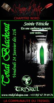 200124 – Chapitre Nord – Vendredi 24 Janvier 2020 – 21h – Soirée D/s BDSM – Le Triskel Donjon